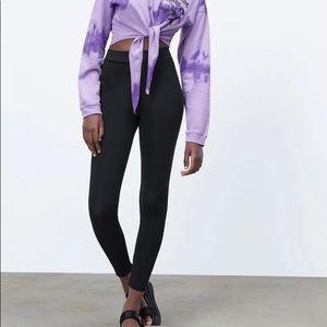COPY - Zara Stretch Leggings Black Size Large